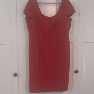 Woven Scoop Neck Dress